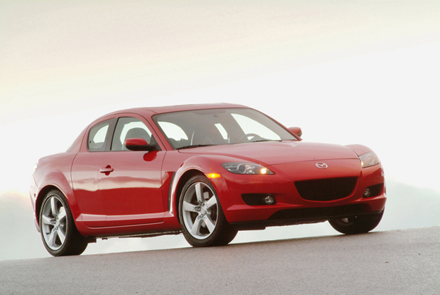 Mazda RX-8 produced between 2004 and 2008.